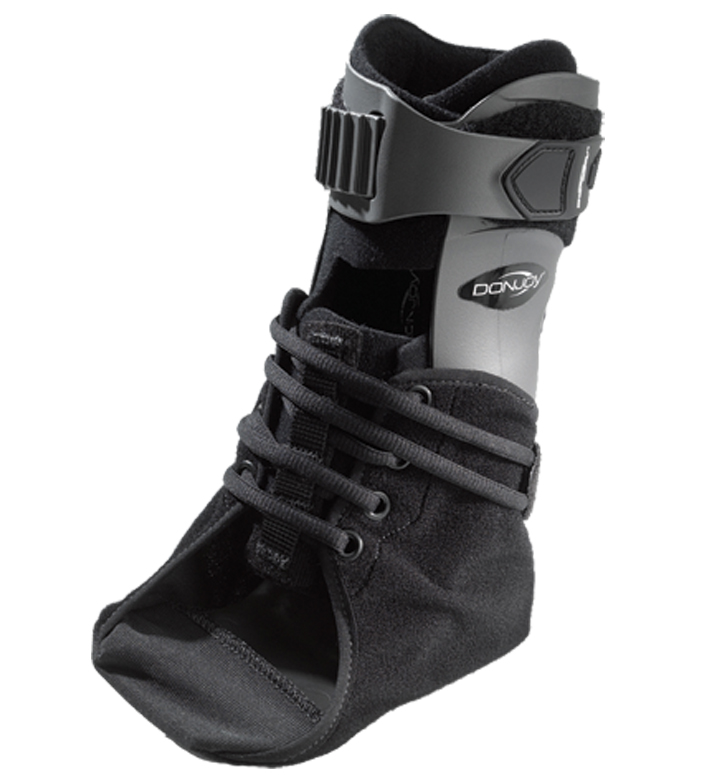 how to wear lp ankle support