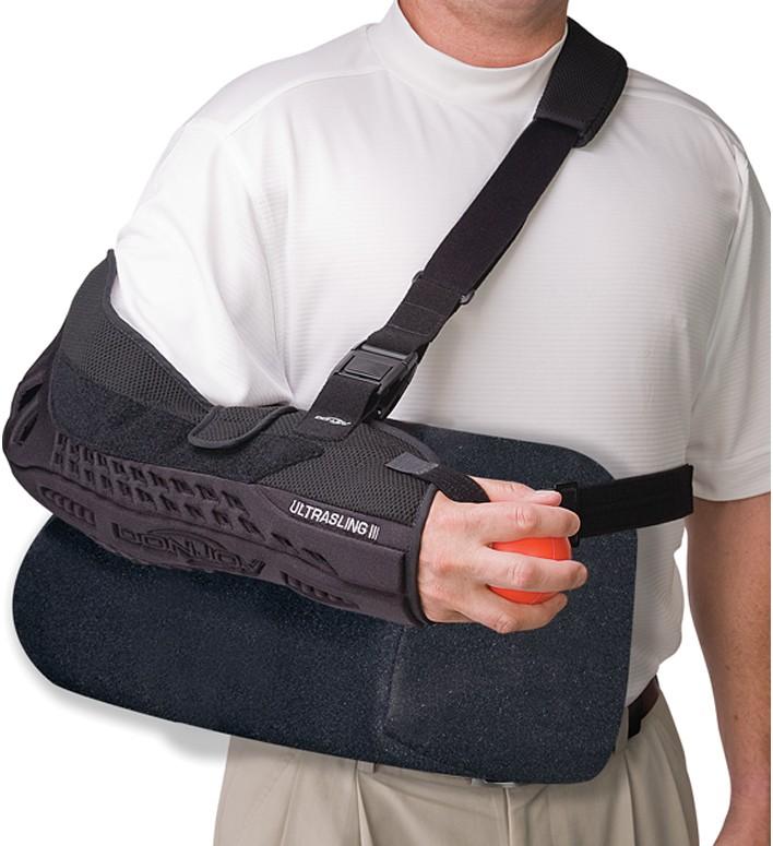 donjoy shoulder stabilizer instructions