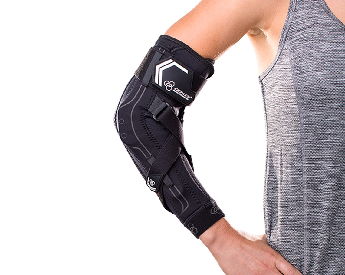Bionic Elbow Brace - On-Skin - Black - Front