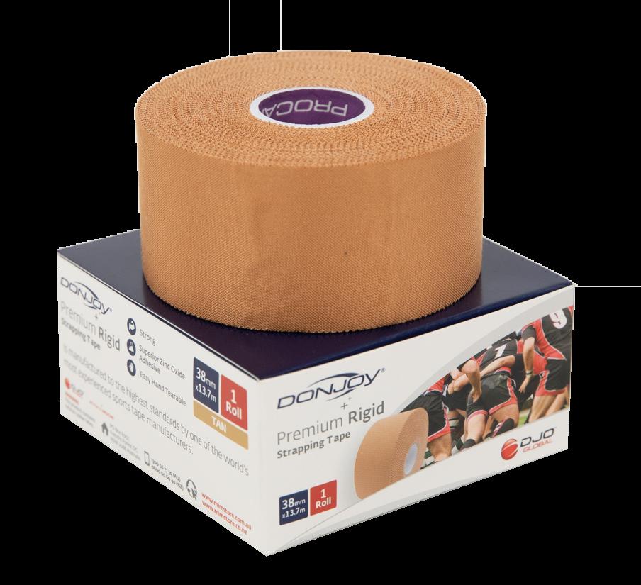 DonJoy Premium Rigid Strapping Tape - 3.8cm x 13.7m