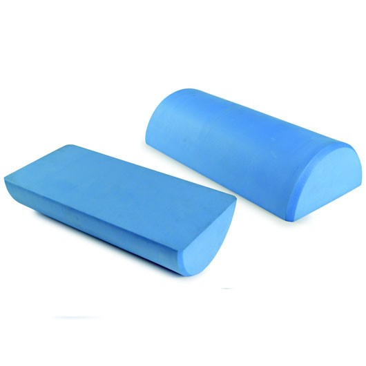 Foam Roller - Short Half Round (30cm (L)  x  7.5cm (D))