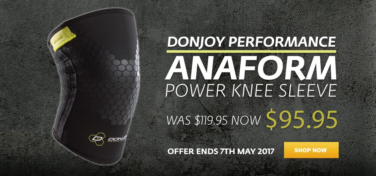 DonJoy Anaform Knee Sleeve
