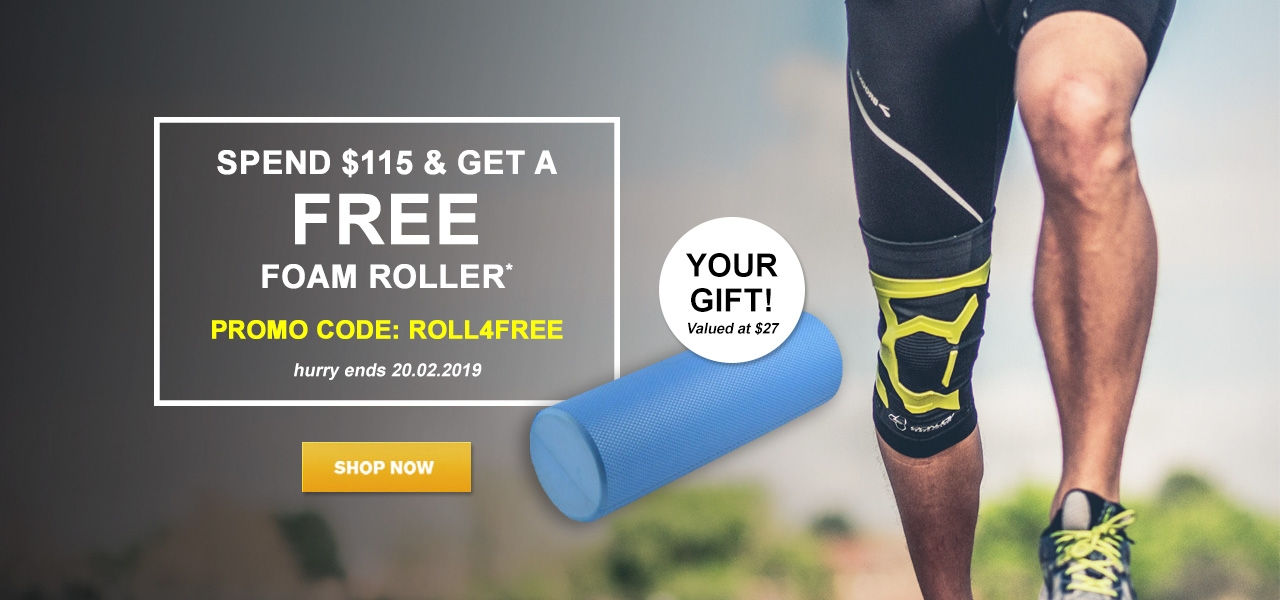 Free Foam Roller Gift With $115 Purchase